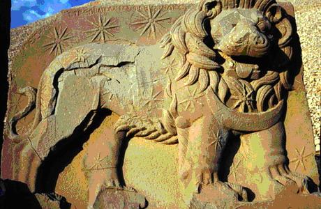 Немрут-Даг,каменные головы