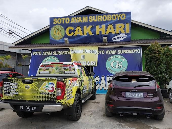 Soto Ayam Suroboyo Cak Hari, Soto Surabaya Enak di Banjarmasin