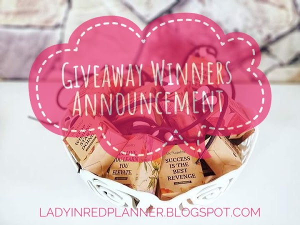 FEBRUARY GIVEAWAY Contest Winners Announced!