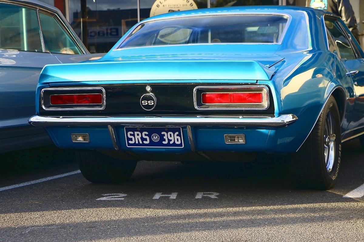 Chevrolet Camaro SS Rear.jpg