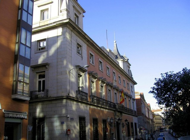 Calle Ancha De San Bernardo Viendo Madrid