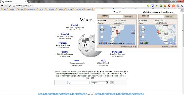 IP Map Ip Address Map on