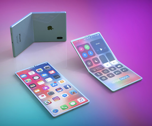 iPhone foldable phone