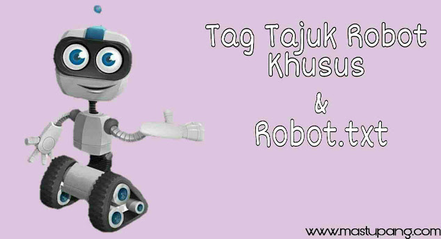 Settingan Tag Tajuk Robot Khusus di Blogger yang Benar