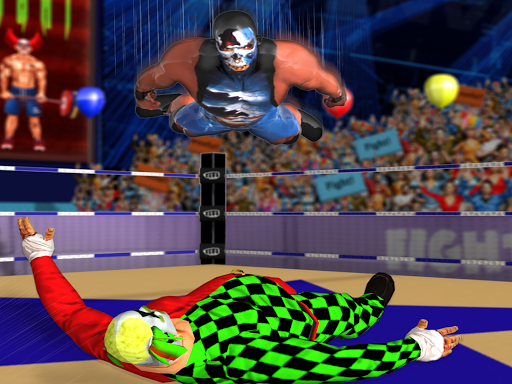 Clown Tag Team Wrestling Revolution Championship 1.7 screenshots 4