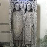 Eglise Saint-Martin : pierre tombale de Trézan