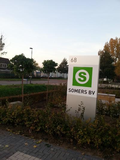 Aanleg bedrijfstuin Somers BV