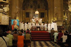 acción de gracias por la Beatificación de Juan Pablo II