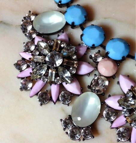 Warehouse Pastel Floral Necklace