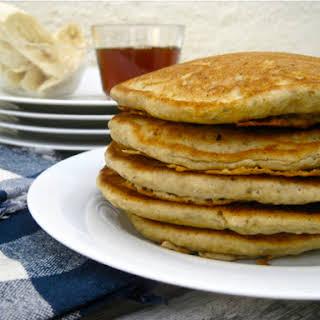 Fluffy Gluten Free Vegan Pancakes.