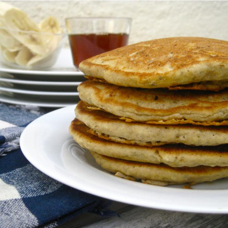 Fluffy Gluten Free Vegan Pancakes Recipe