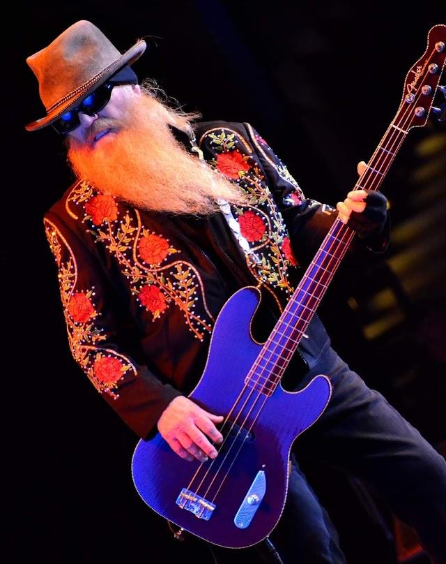 Murio la leyenda del Rock and Roll  Dusty Hill de ZZ Top.