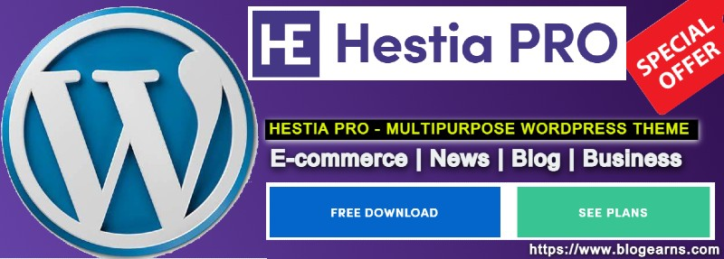 Hestia WordPress Theme - Super Fast Multipurpose Theme