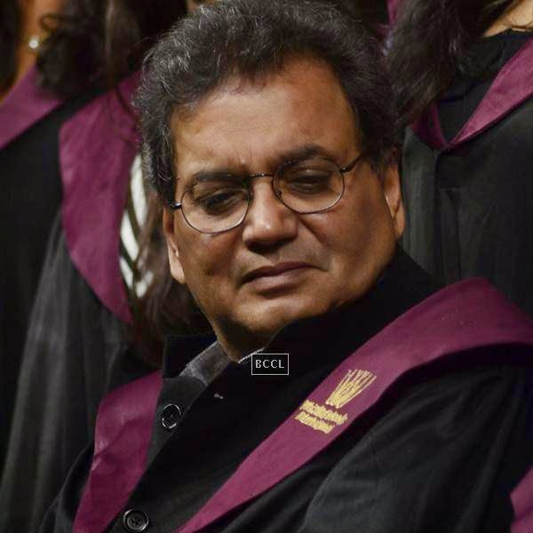 Bollywood filmmaker and founder Whistling Woods International Subash Ghai during Whistling Woods International's 7th Annual convocation in Mumbai. (Pic: Viral Bhayani)