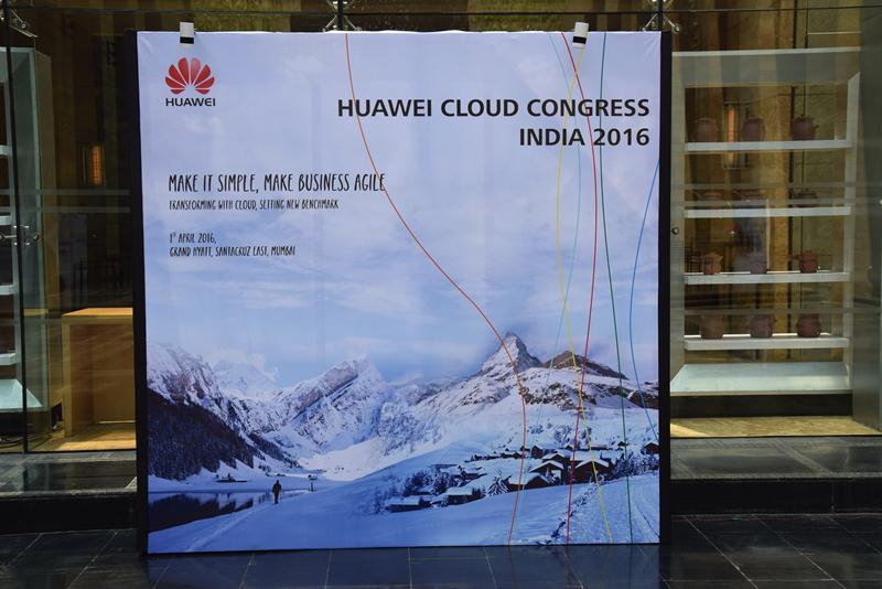 Huawei Cloud Congress India 2016 - 14