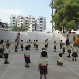 Circle day celebrations in Pre-Primary block on 07th July 2015.