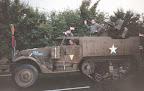 M3 Half track, corridor tour, Grave bridge - Market Garden 1994