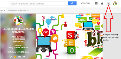 Google+ Starting New Easy Sharing Button » SEOOFBLOG.COM