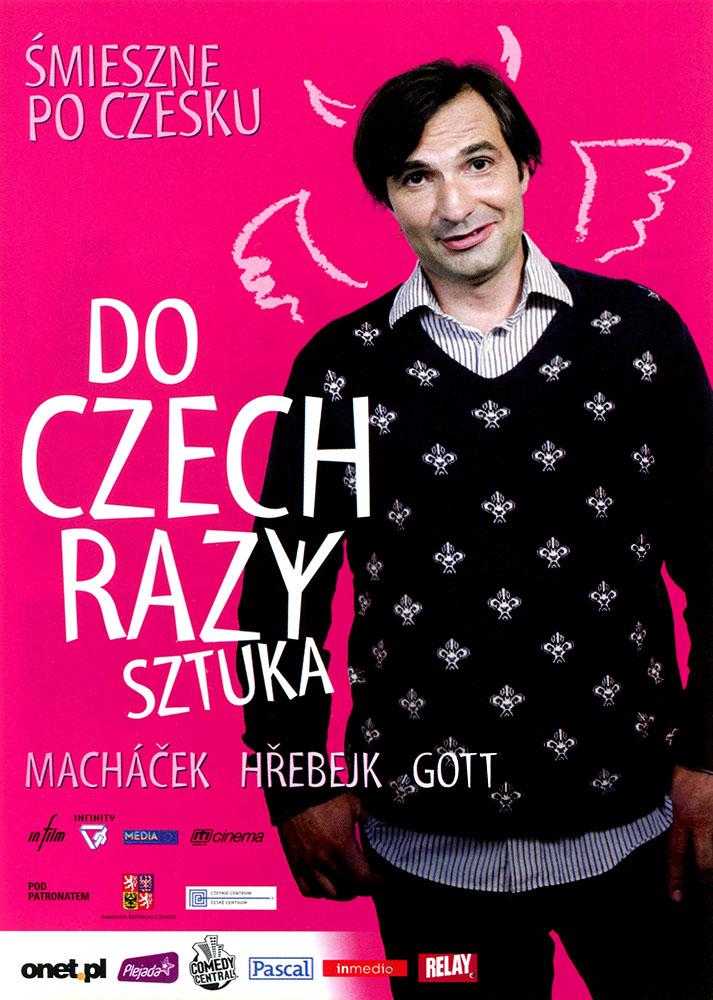 Ulotka filmu 'Do Czech Razy Sztuka (przód)'