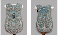 Cerulean Blue Marian Vestments from Formerly Colonial Peru