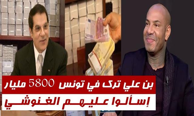 """كادوريم يكشف:"""" الرئيس بن علي ترك في تونس 5800 مليار ... إسألوا عليهم راشد الغنوشي ونتحداه"""" ـ بالفيديو"""