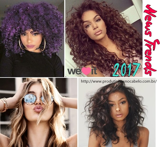 tendência em cabelos