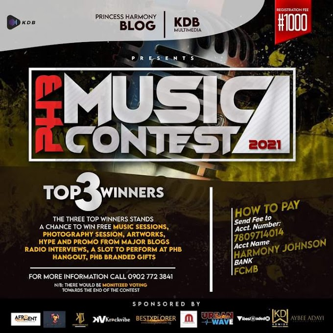 """Registration is On """"PHB Music Contest"""""""