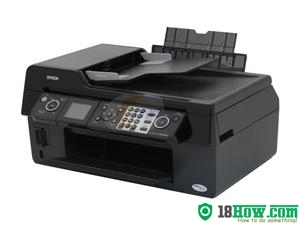 How to Reset Epson CX9400Fax flashing lights problem