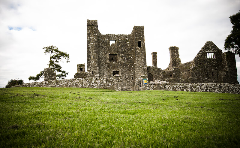 Irlandia -- Bective Abbey..