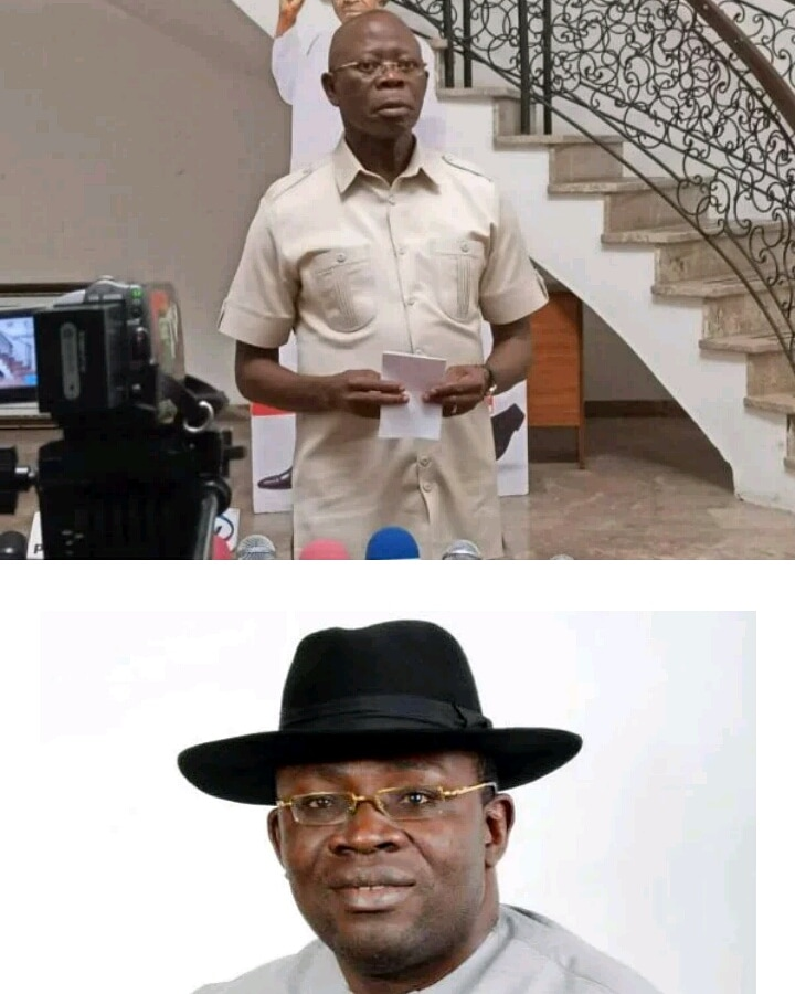 Governor Dickson Is In Trouble, Says Oshiomhole