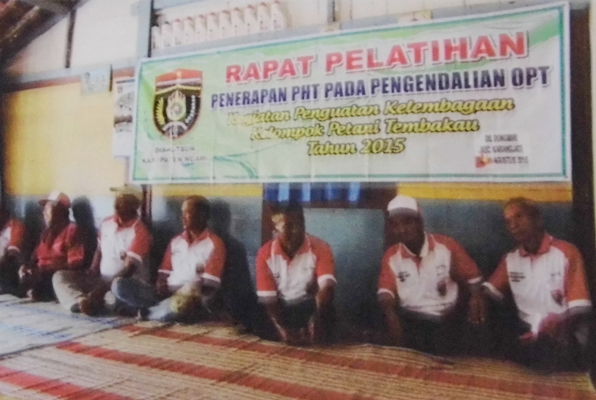 Ngawi: 9 kelopok tani tembakau ikuti seminar penerapan pengendalian hama terpadu (PHT)