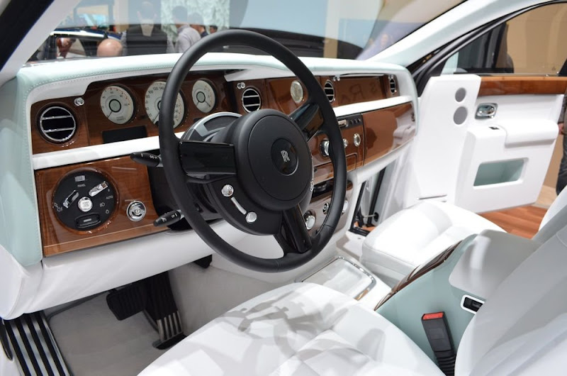 Dashboard of Rolls-Royce Phantom Serenity