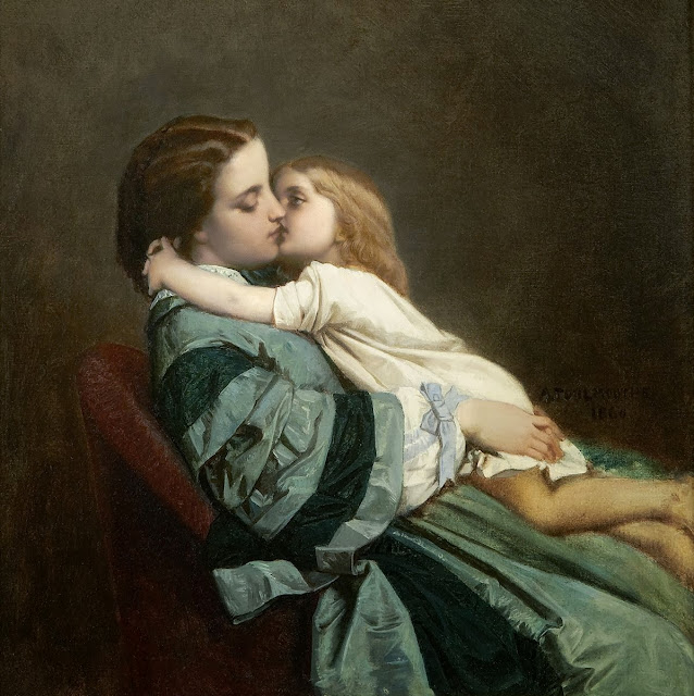 Auguste Toulmouche - Motherly Love