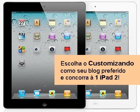 Sorteio de 2 iPads 2