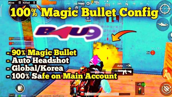 PUBG Mobile Magic Bullet Sekmeme CONFİG İndir