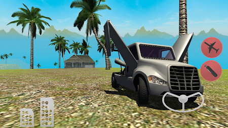 Flying Car Free: Truck Pilot 4 screenshot 711568