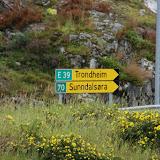 We gaan de goede kant op: Trondheim.