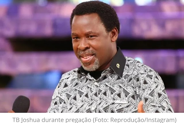 Morreu no último sábado (5), Temitope Balogun Joshua, mais conhecido como TB Joshua,
