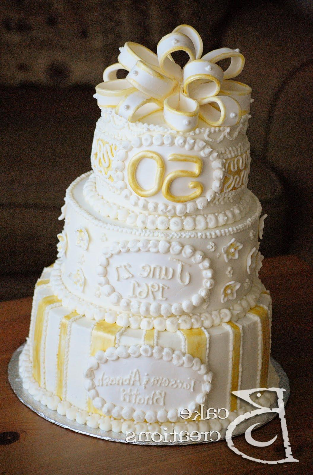 Vinnie S Blog 50th Wedding Anniversary Cakes