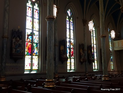 Stained Glass and Stations of the Cross