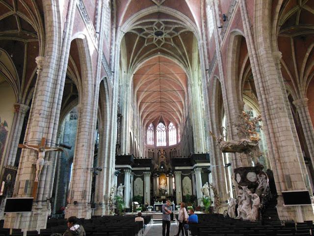 Interior de la Catedral de San Bavón