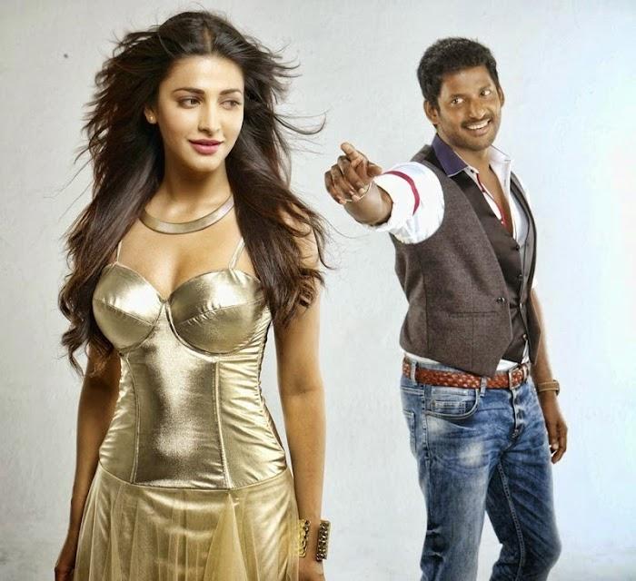 Shruti hassan hot sexy Photos in Poojai Movie songs