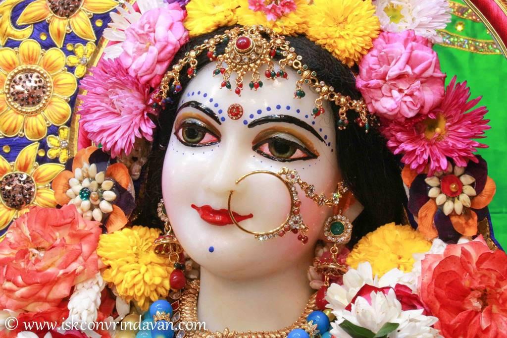 ISKCON Vrindavan Sringar Deity Darshan 01 Mar 2016 (11)