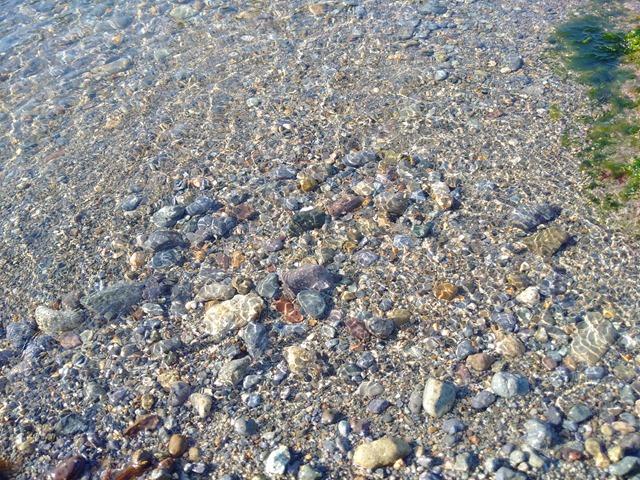 香住夕やけヒルズ海散歩日本海透明度海水