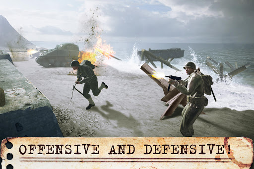 World War Heroes: WW2 FPS Shooter! game (apk) free download for Android/PC/Windows screenshot