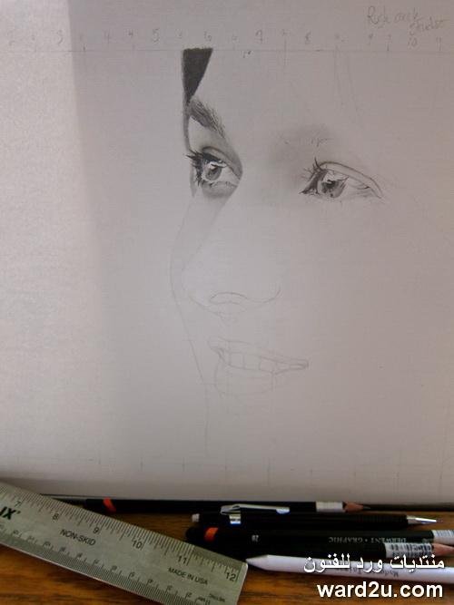 سحر القلم الرصاص في رسم المشاهير