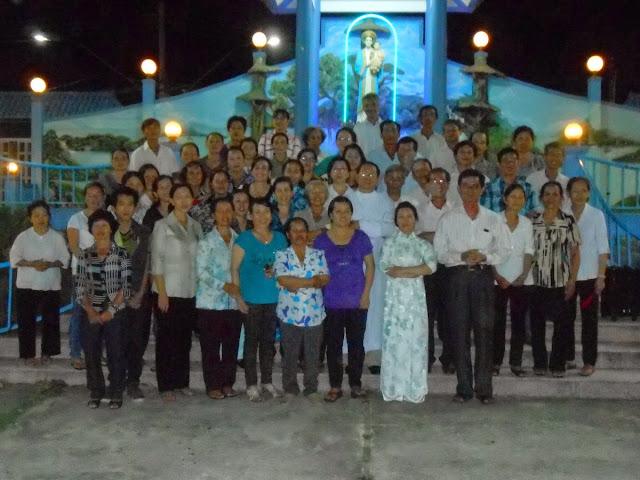 Giáo họ Tôma, giáo xứ Ba Ngòi ra mắt các Liên Ái