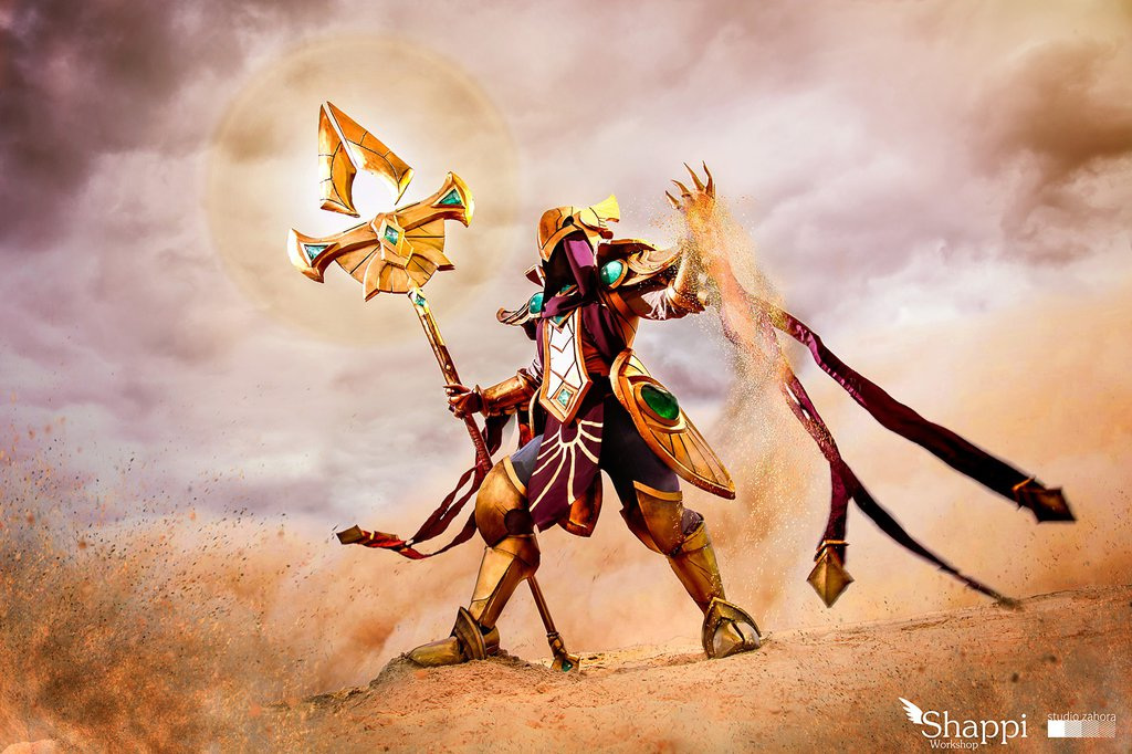 Azir Emperor of the Sands : League of Legends by Shappi1