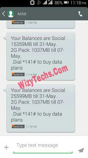 Airtel social bundle cheat