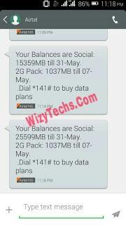 Airtel social bundle cheat